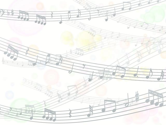 楽譜のイラスト